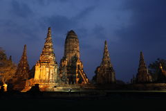 ASIA THAILAND AYUTHAYA WAT CHAI WATTANARAM Royalty Free Stock Photography