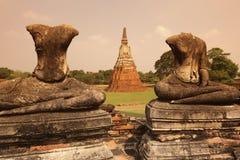 ASIA THAILAND AYUTHAYA WAT CHAI WATTANARAM Royalty Free Stock Images