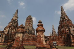 ASIA THAILAND AYUTHAYA WAT CHAI WATTANARAM Royalty Free Stock Image