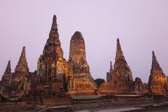 ASIA THAILAND AYUTHAYA WAT CHAI WATTANARAM Stock Photography
