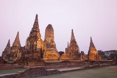 ASIA THAILAND AYUTHAYA WAT CHAI WATTANARAM Stock Photos
