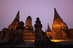 ASIA THAILAND AYUTHAYA WAT CHAI WATTANARAM Stock Photo