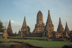 ASIA THAILAND AYUTHAYA WAT CHAI WATTHANARAM Stock Image