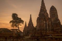 ASIA THAILAND AYUTHAYA WAT CHAI WATTHANARAM Stock Photo