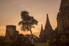 ASIA THAILAND AYUTHAYA WAT CHAI WATTHANARAM Royalty Free Stock Image
