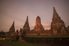 ASIA THAILAND AYUTHAYA WAT CHAI WATTHANARAM Stock Photos