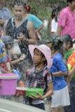 ASIA THAILAND AYUTTHAYA SONGKRAN FESTIVAL Royalty Free Stock Image