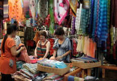 ASIA THAILAND BANGKOK CHATUCHAK WEEKEND MARKET Royalty Free Stock Photo