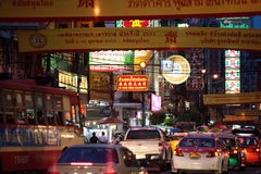 ASIA THAILAND BANGKOK CHINA TOWN Royalty Free Stock Images