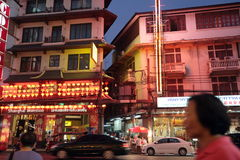 ASIA THAILAND BANGKOK CHINA TOWN Royalty Free Stock Photo