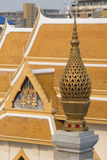 ASIA THAILAND BANGKOK CHINA TOWN WAT TRAIMIT Royalty Free Stock Photography