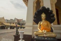 ASIA THAILAND BANGKOK CHINA TOWN WAT TRAIMIT Royalty Free Stock Images