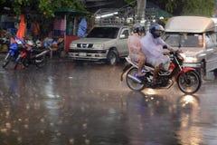 ASIA THAILAND BANGKOK CITY RAIN Stock Images