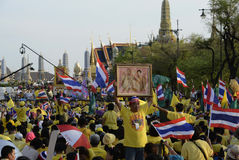 ASIA THAILAND BANGKOK CORONATION DAY Royalty Free Stock Images