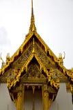 asia Thailand Bangkok deszczu świątynia barwi religii mosa Zdjęcia Stock