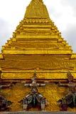 asia Thailand Bangkok deszczu religii mozaika Zdjęcie Royalty Free