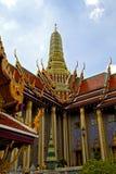 Asia  thailand  in  bangkok  rain   temple abstract flower Royalty Free Stock Photos