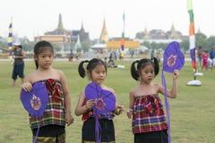 ASIA THAILAND BANGKOK SANAM LUANG KITE FLYING Stock Photo