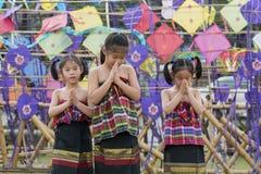 ASIA THAILAND BANGKOK SANAM LUANG KITE FLYING Stock Image