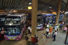 ASIA THAILAND BANGKOK TRANSPORT BUS TERMINAL Stock Photos