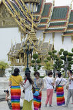 ASIA THAILAND BANGKOK WAT PHRA KAEW Stock Image