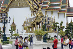 ASIA THAILAND BANGKOK WAT PHRA KAEW Royalty Free Stock Photography