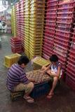 ASIA THAILAND CHIANG MAI MARKET Royalty Free Stock Photos