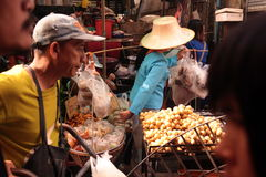 ASIA THAILAND CHIANG MAI MARKET Royalty Free Stock Image