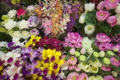 ASIA THAILAND CHIANG MAI TALAT WAROROT FLOWERS Stock Photography