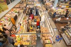 ASIA THAILAND CHIANG MAI TALAT WAROROT MARKET Stock Photos