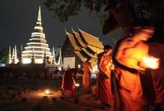 ASIA THAILAND CHIANG MAI WAT PHAN TAO Royalty Free Stock Image