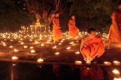 ASIA THAILAND CHIANG MAI WAT PHAN TAO Royalty Free Stock Photography