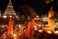 ASIA THAILAND CHIANG MAI WAT PHAN TAO Stock Photos