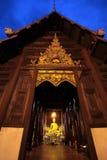ASIA THAILAND CHIANG MAI WAT PHAN TAO Stock Photo