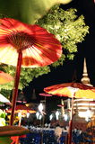 ASIA THAILAND CHIANG MAI WAT PHAN TAO Royalty Free Stock Photos