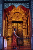 ASIA THAILAND CHIANG MAI WAT PHRA SING Stock Photography