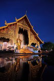 ASIA THAILAND CHIANG MAI WAT PHRA SING Royalty Free Stock Photography