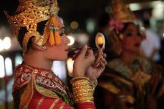 ASIA THAILAND CHIANG THAI DANCE Royalty Free Stock Photos