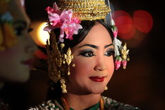 ASIA THAILAND CHIANG THAI DANCE Stock Images