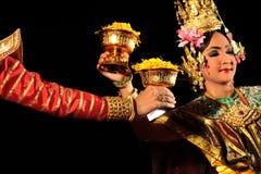 ASIA THAILAND CHIANG THAI DANCE Stock Photo