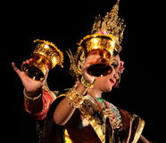 ASIA THAILAND CHIANG THAI DANCE Stock Photography
