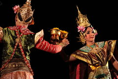 ASIA THAILAND CHIANG THAI DANCE Royalty Free Stock Photography