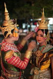 ASIA THAILAND CHIANG THAI DANCE Royalty Free Stock Images