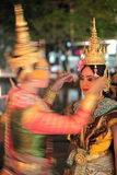 ASIA THAILAND CHIANG THAI DANCE Stock Image