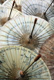 ASIA THAILAND CHIANG UMBRELLA Royalty Free Stock Images