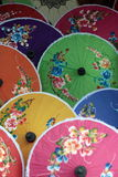 ASIA THAILAND CHIANG UMBRELLA Royalty Free Stock Photography