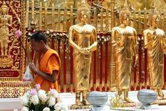 ASIA THAILAND CHIANG WAT DOI SUTHEP royalty free stock photo