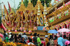 ASIA THAILAND ISAN YASOTHON TRADITION Stock Photo