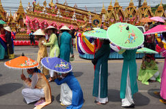 ASIA THAILAND ISAN YASOTHON TRADITION Royalty Free Stock Photos