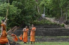 ASIA THAILAND MAE HONG SON Royalty Free Stock Photos